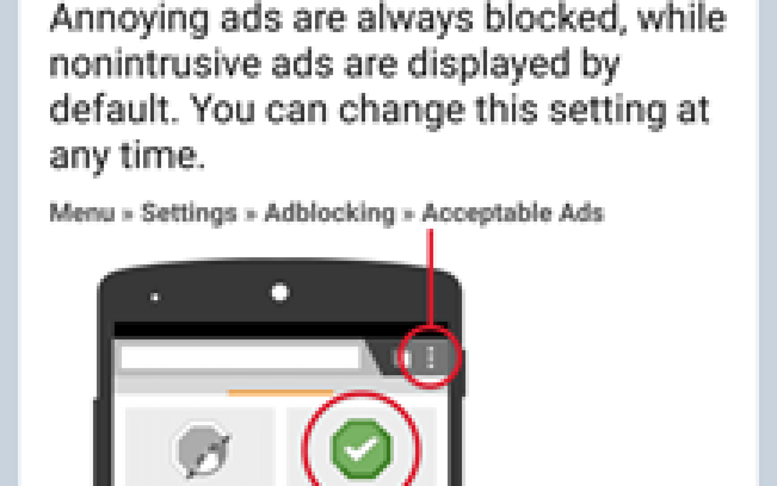 There are several ways to get ad block on your Android device in at least some capacity. Download from adblock plus. Adblocker Plus is arguably the most popular ad blocker app on the list. It works on both rooted and non-rooted devices, although non-root users have some extra...