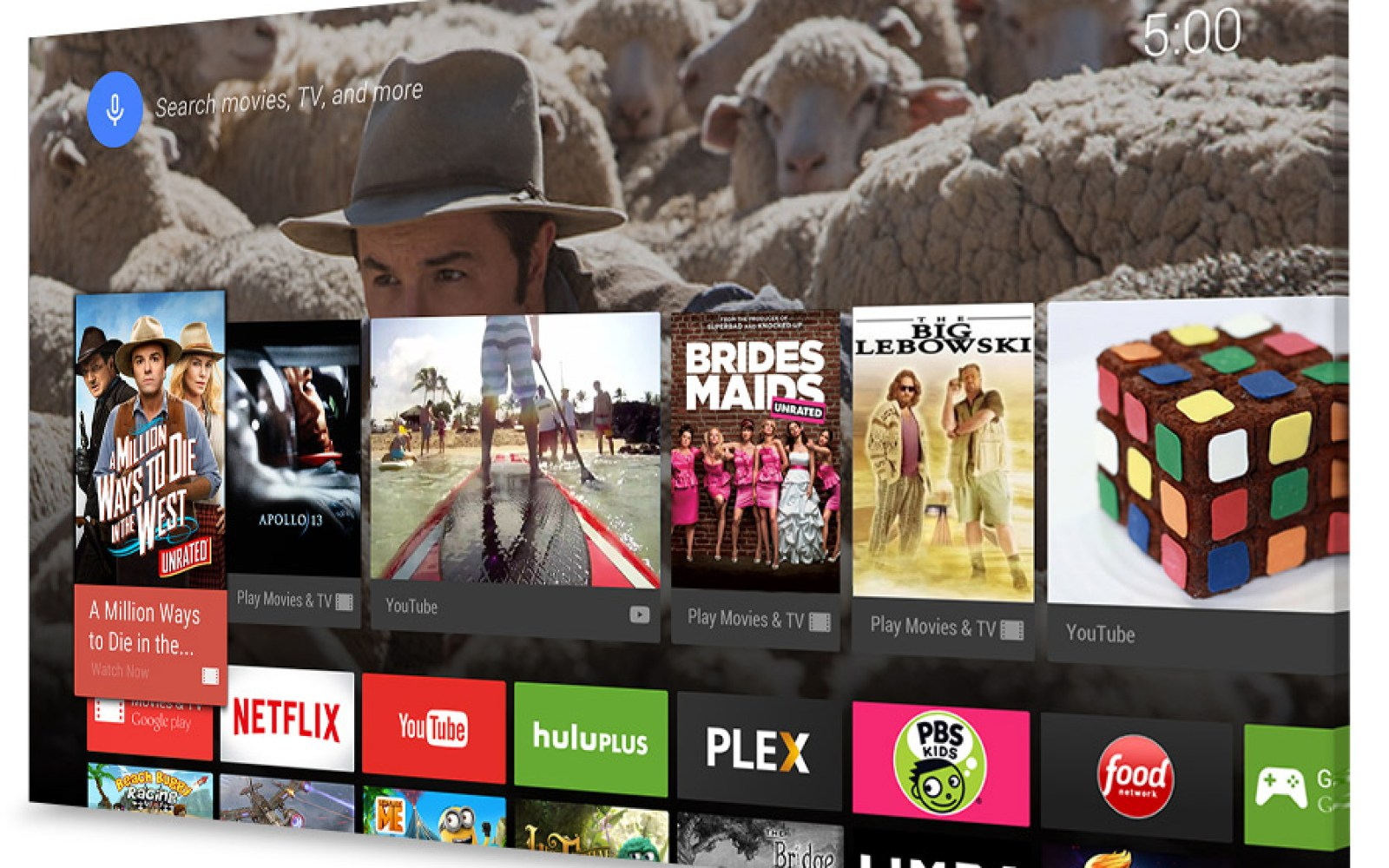 New Android TV apps arrive as update revamps app discovery for the platform