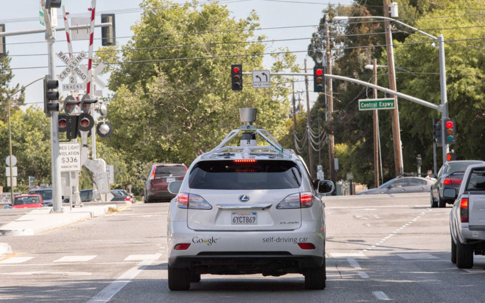 Humans at fault as California's DMV releases details of six self driving car accidents