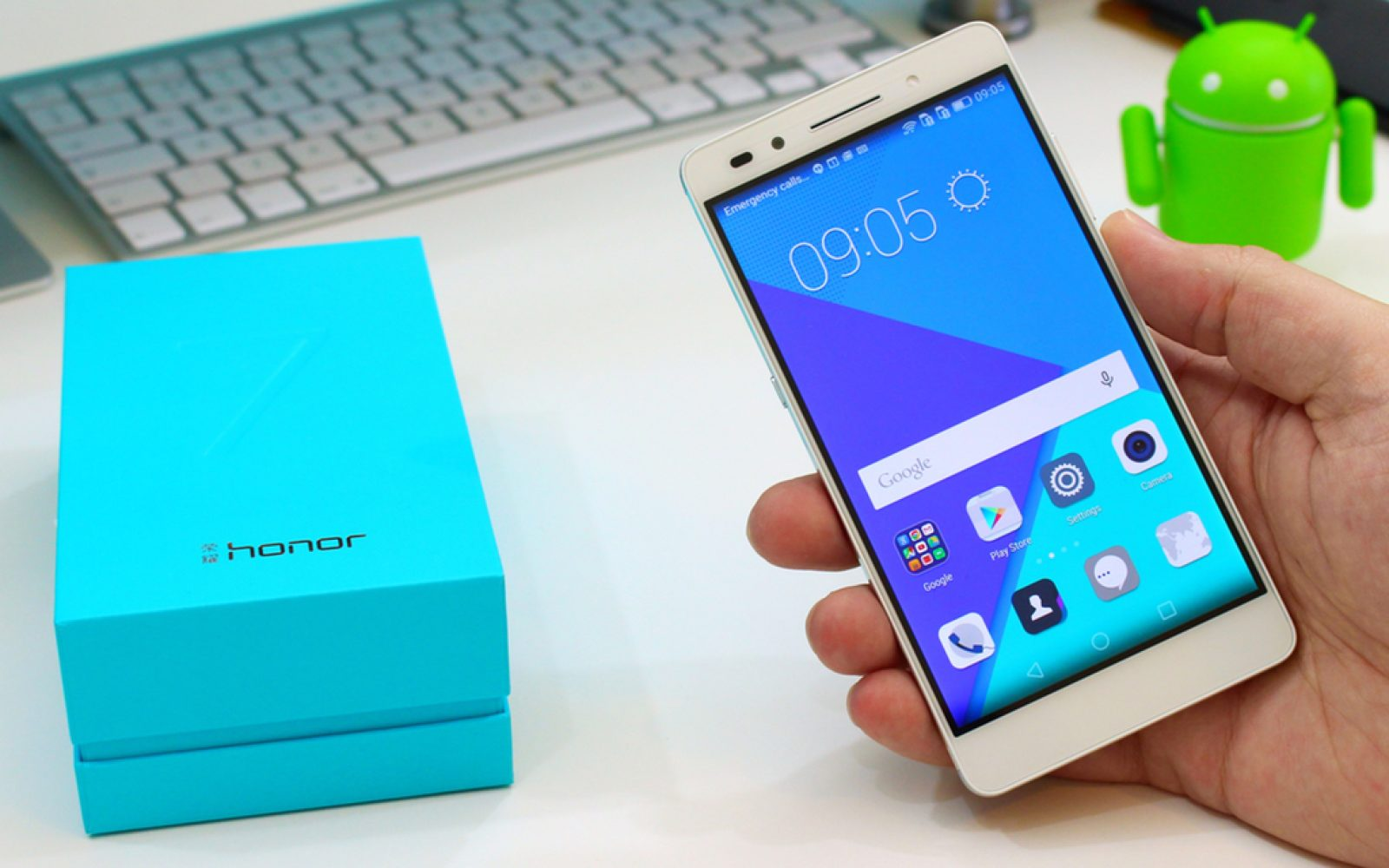 Honor 7: Unboxing Huawei's budget-brand premium-design Android