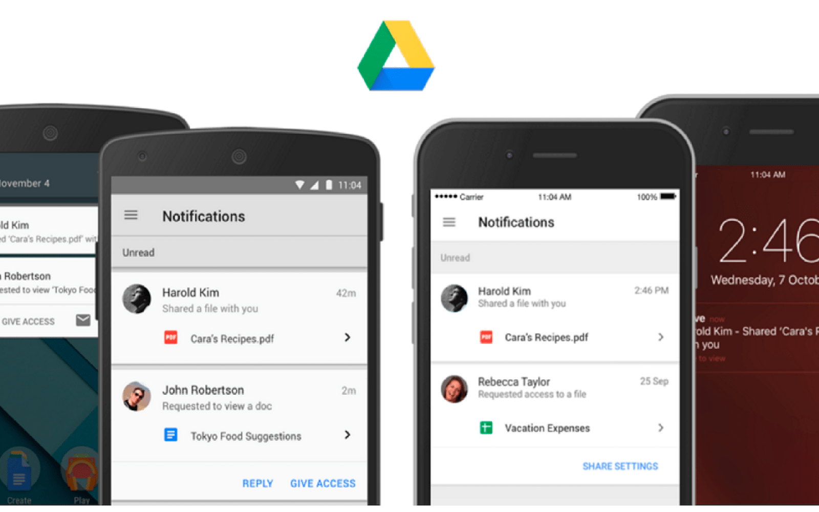 Google Drive Apps Add Support For Templates On Android And IOS - Google apps templates