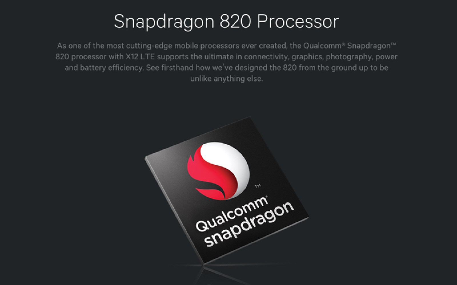 Snapdragon 820 processor officially announced, features Quick-Charge 3.0, Adreno 530 GPU, 600Mbps LTE cat. 12, more