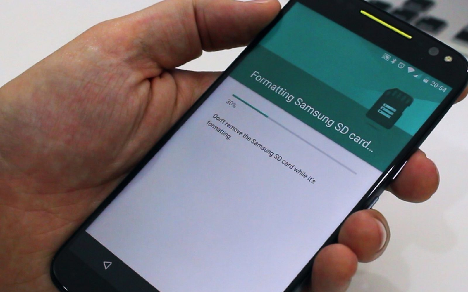 Android 6 0 Marshmallow tip: 'Adopt' your MicroSD card as internal