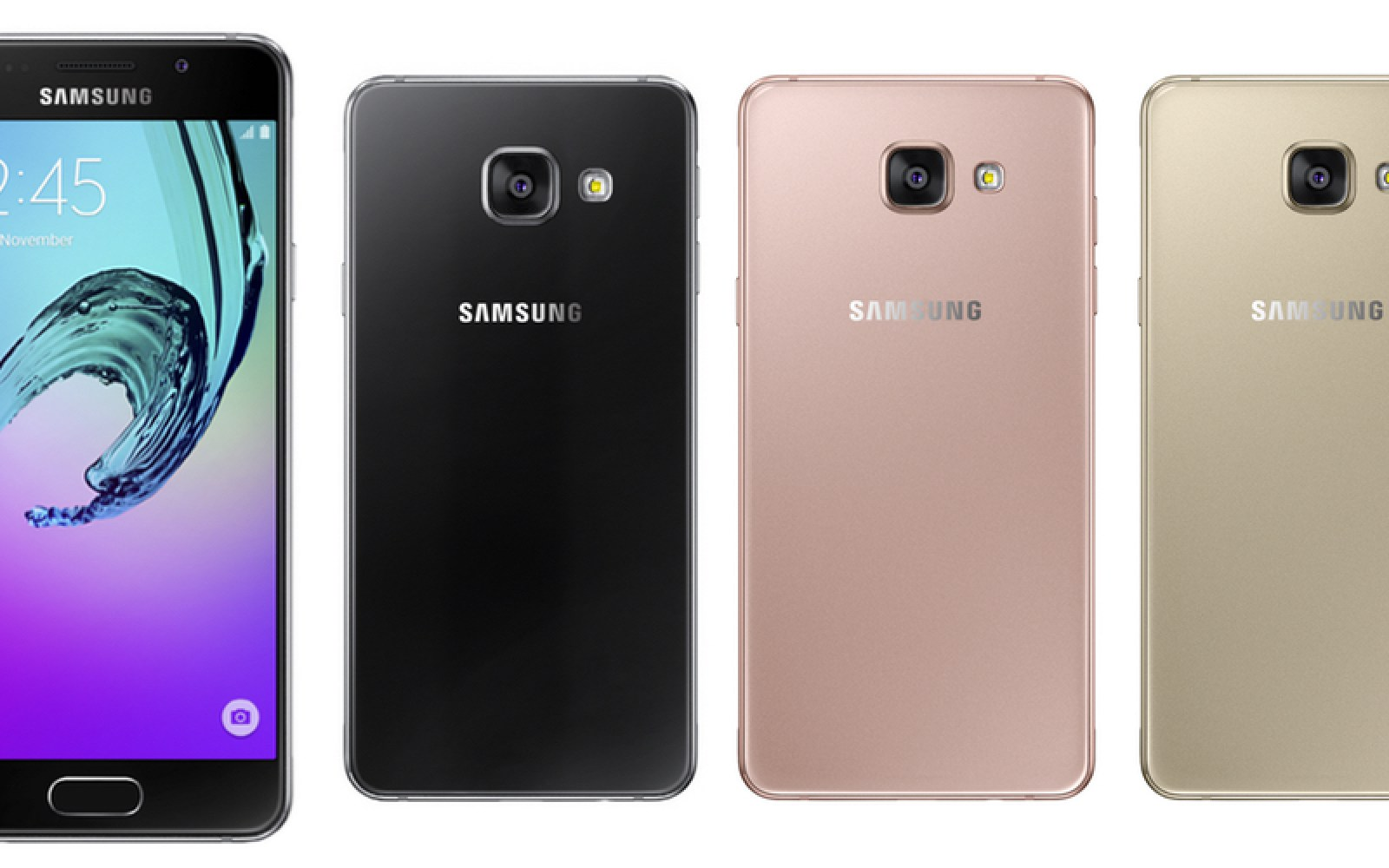2016 Samsung Galaxy A3, A5 and A7 officially announced, equipped with fast-charging, Samsung Pay support, OIS cameras, more