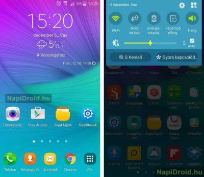 Android galaxy note 4 screenshot 2