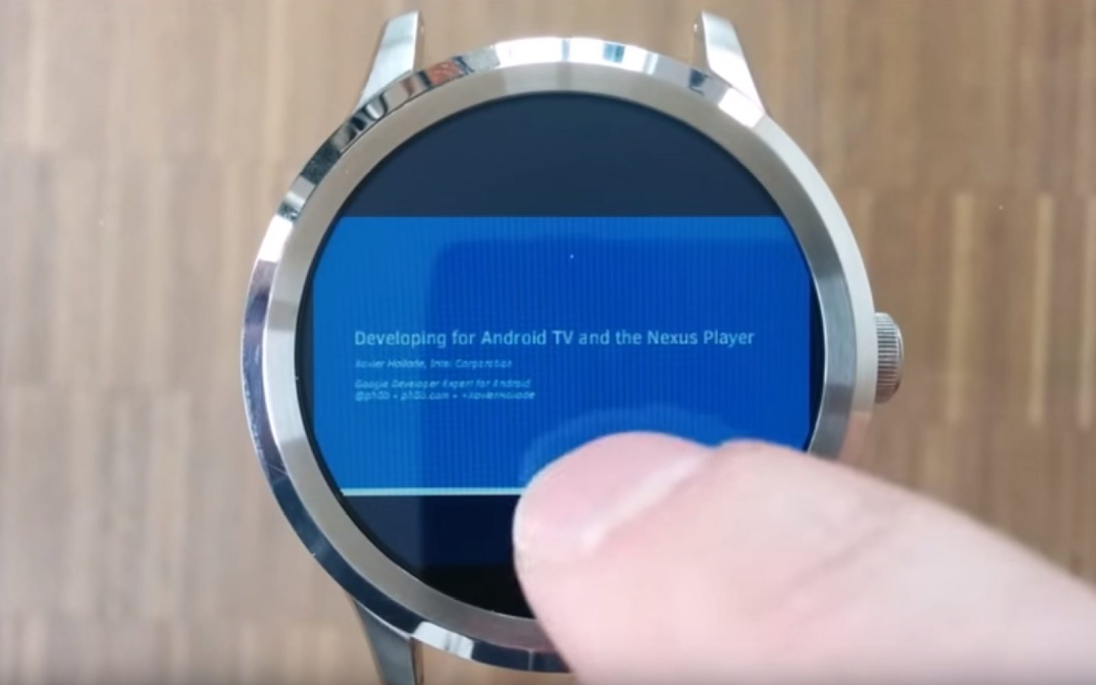Documents for Android Wear' lets you view Google Docs and PDFs on
