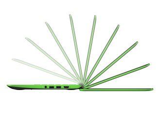 HP Chromebook 11 G4 EE_electric green_side