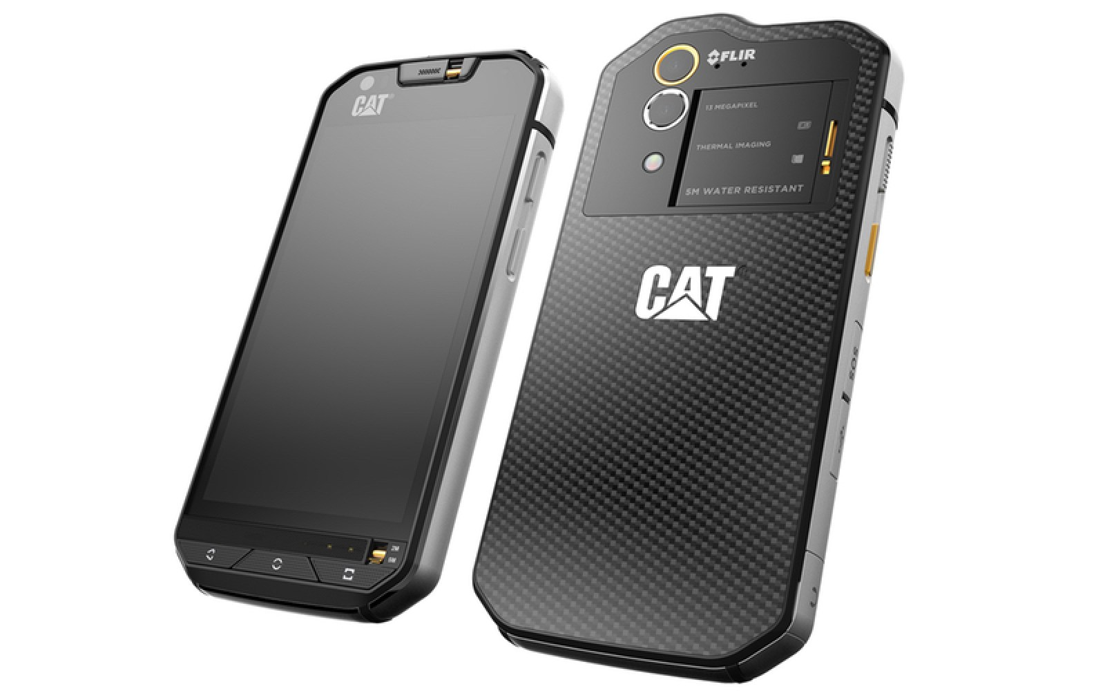 CAT S60 is the first Android phone with built-in thermal camera, can withstand drops of nearly 2 meters