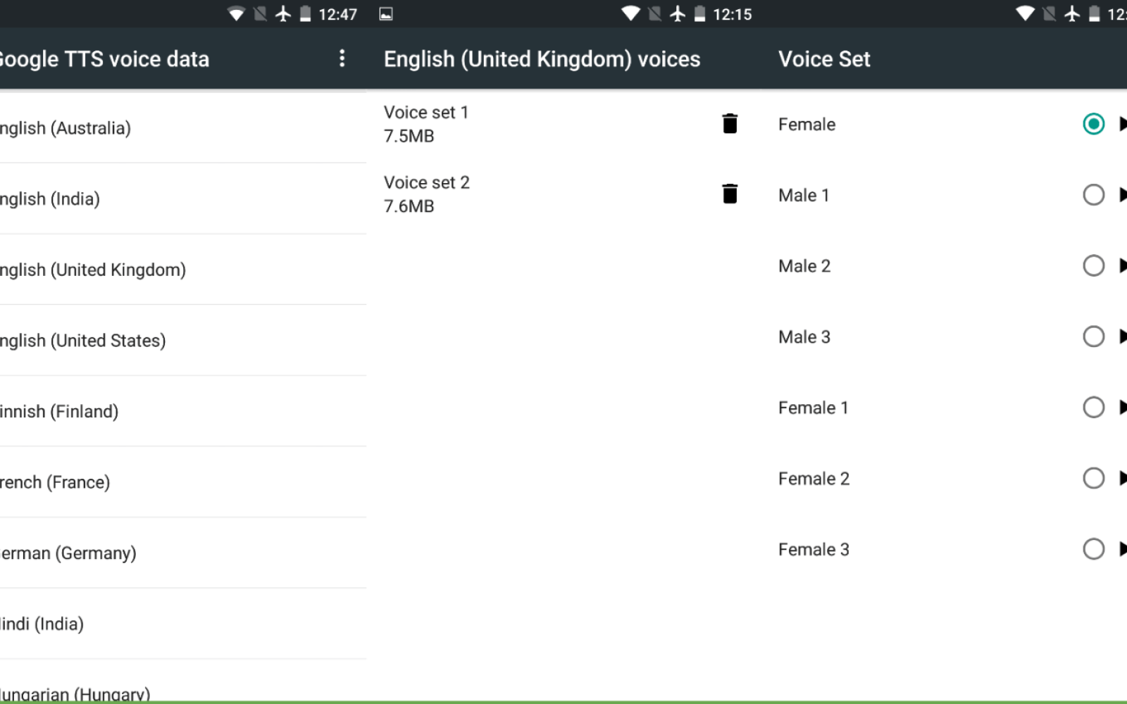 Google text-to-speech update adds multiple male & female