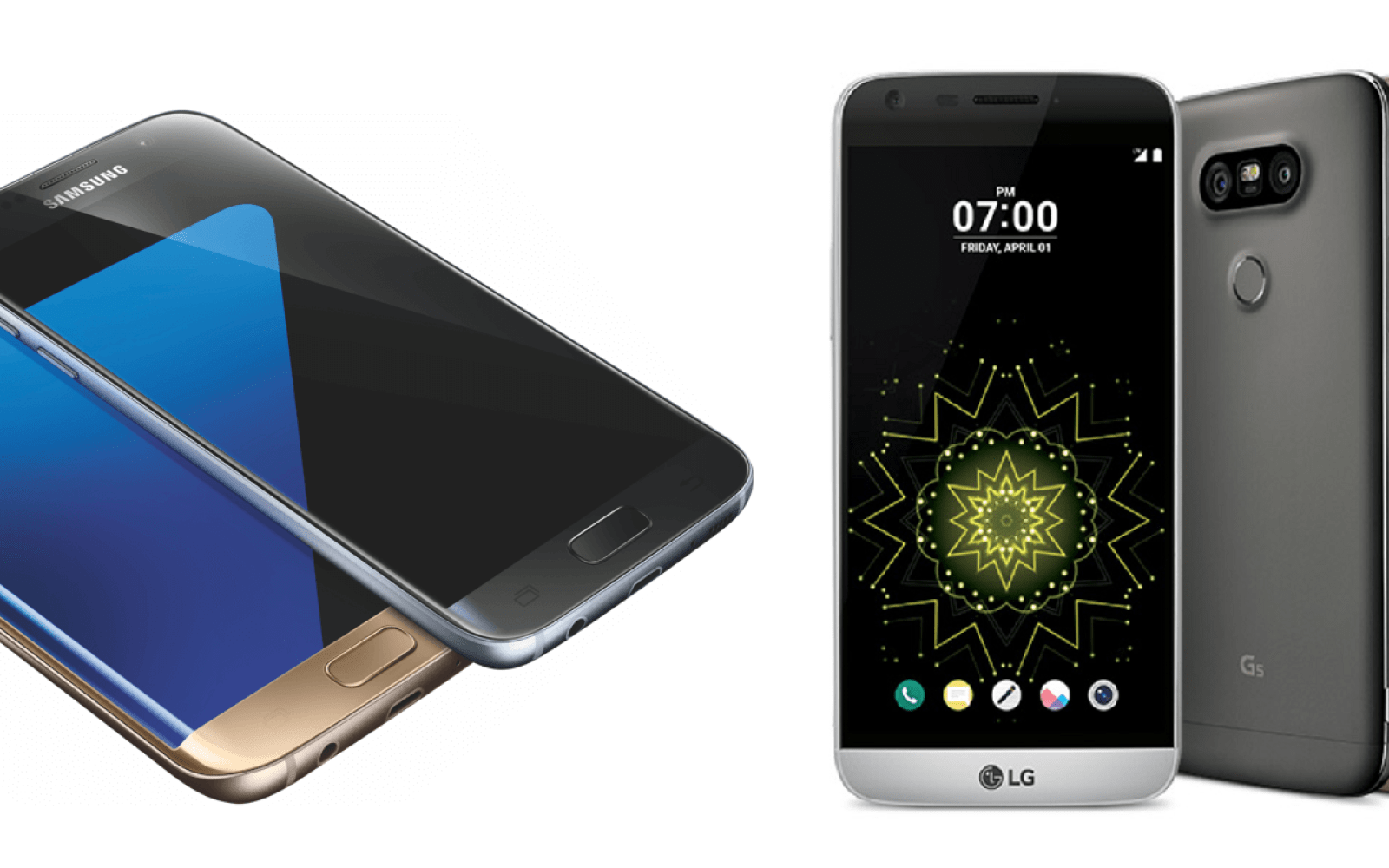 Samsung Galaxy S7 vs. Galaxy S7 edge vs. LG G5 specs compared – which is your pick? [Poll]