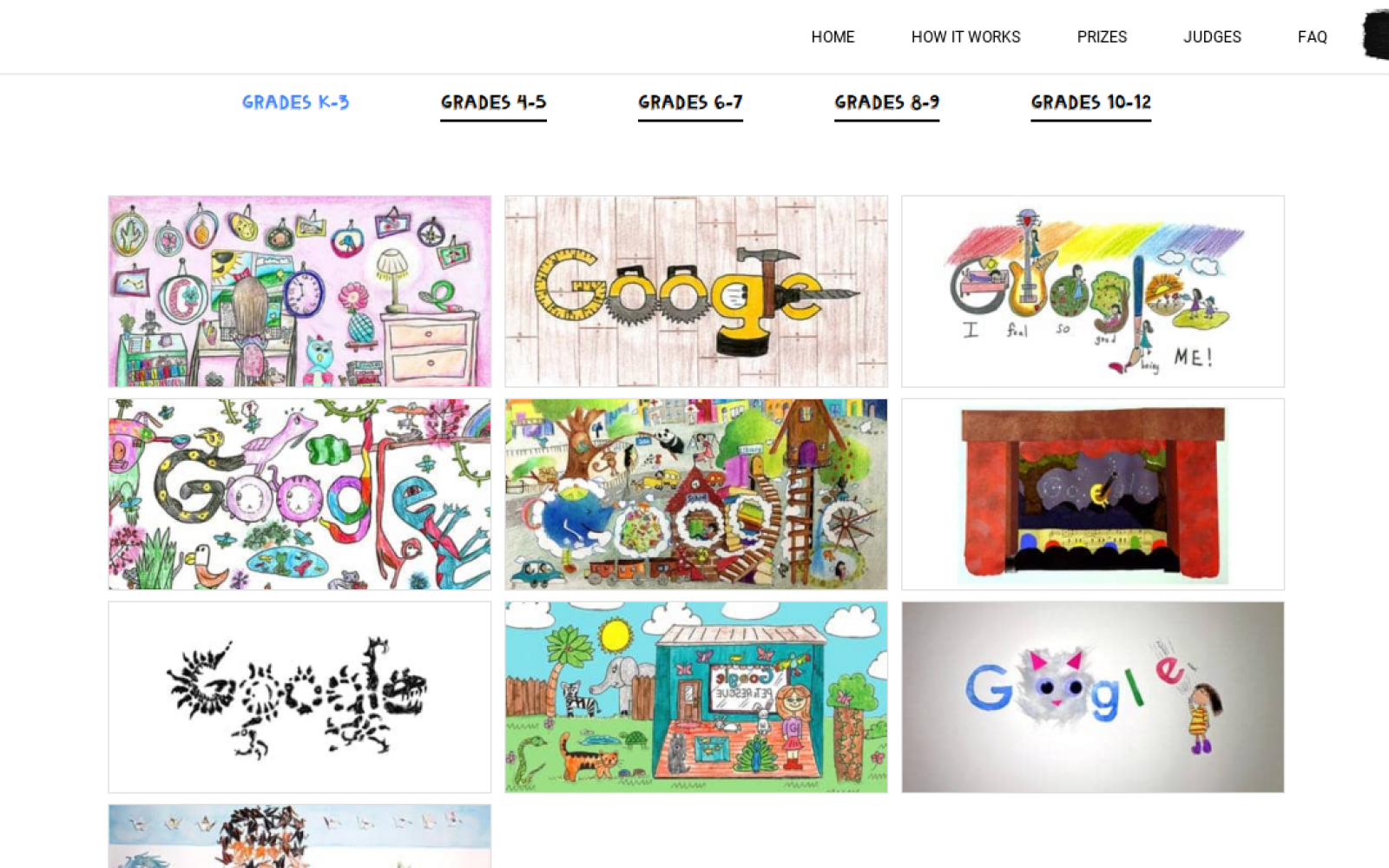 voting is now live for this year s doodle 4 google finalists