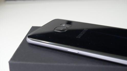Galaxy S7 edge back