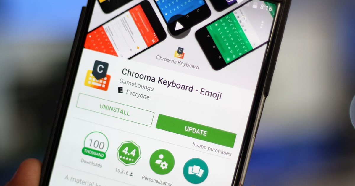 Keyboard apps for Android smartphones
