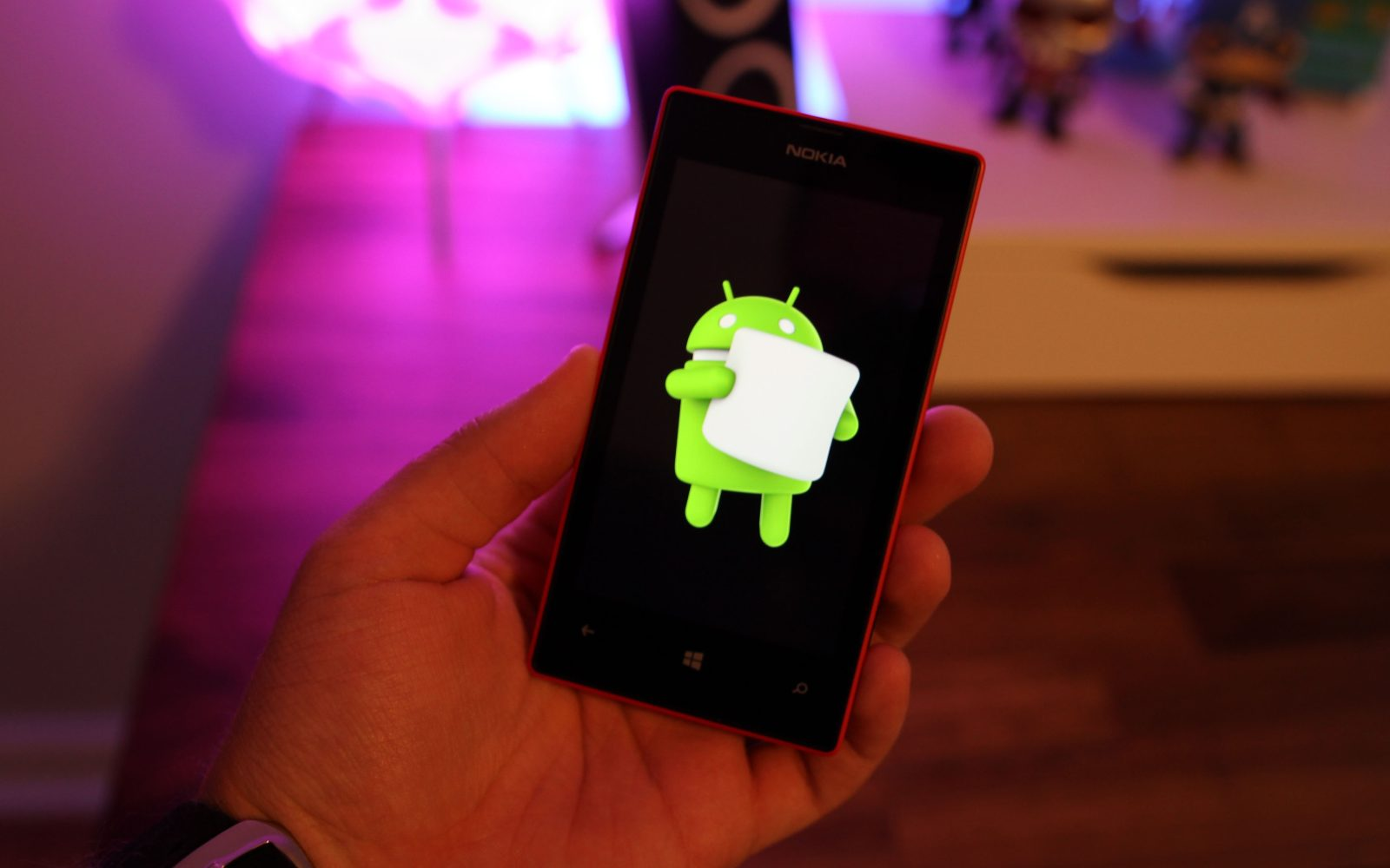 XDA developer working on porting Android to the Windows