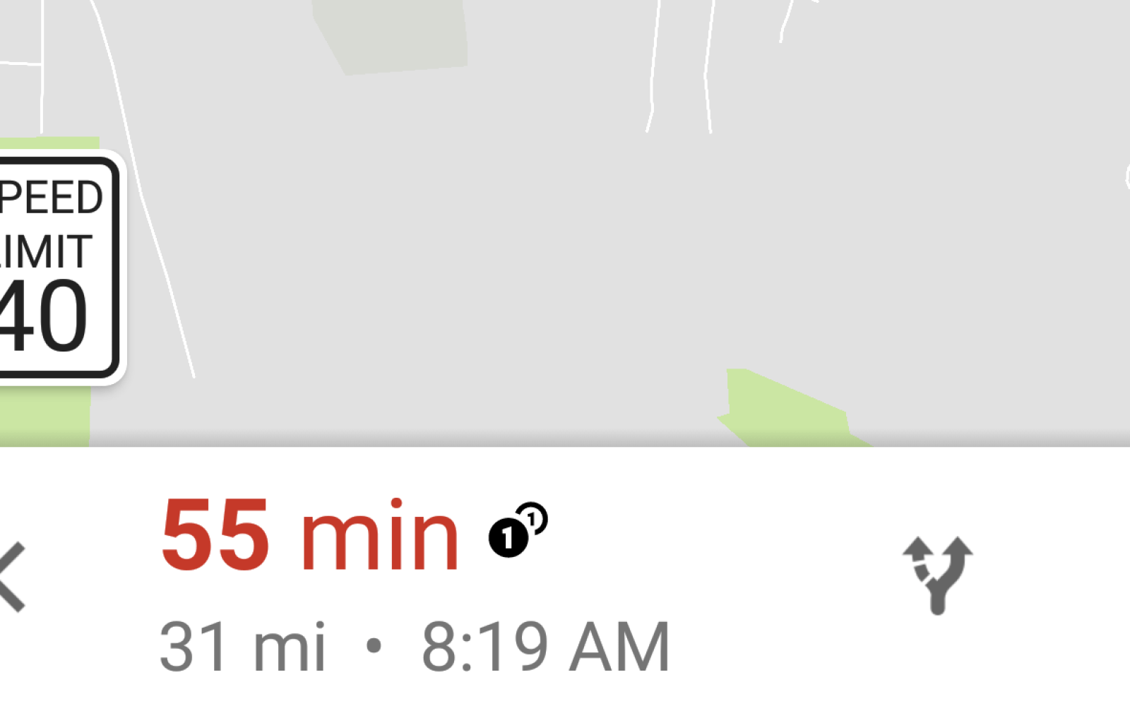 Speed limit signs are now showing for some in Google Maps