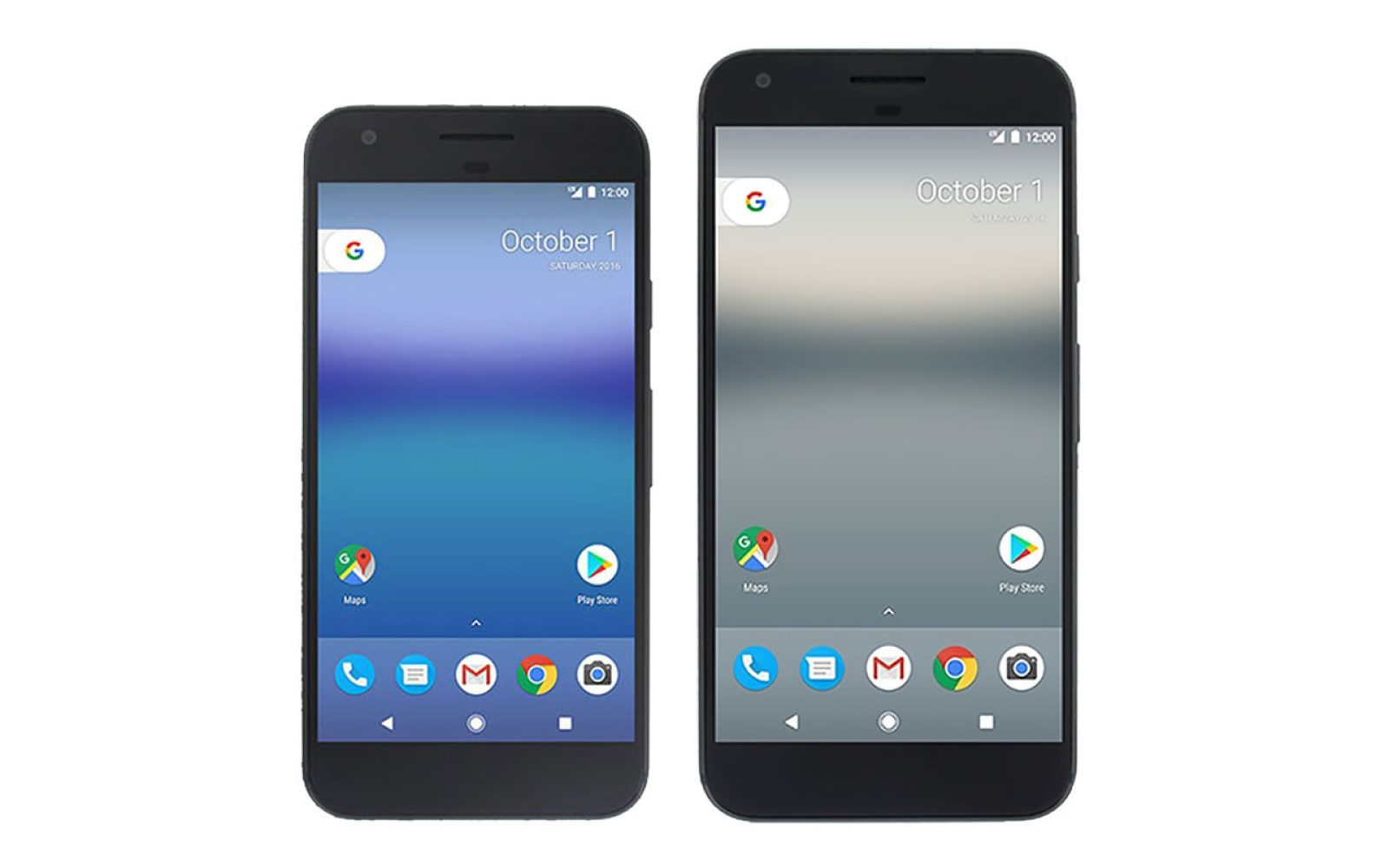 Here\'s how the Pixel and Pixel XL compare in size to the Nexus 6P ...