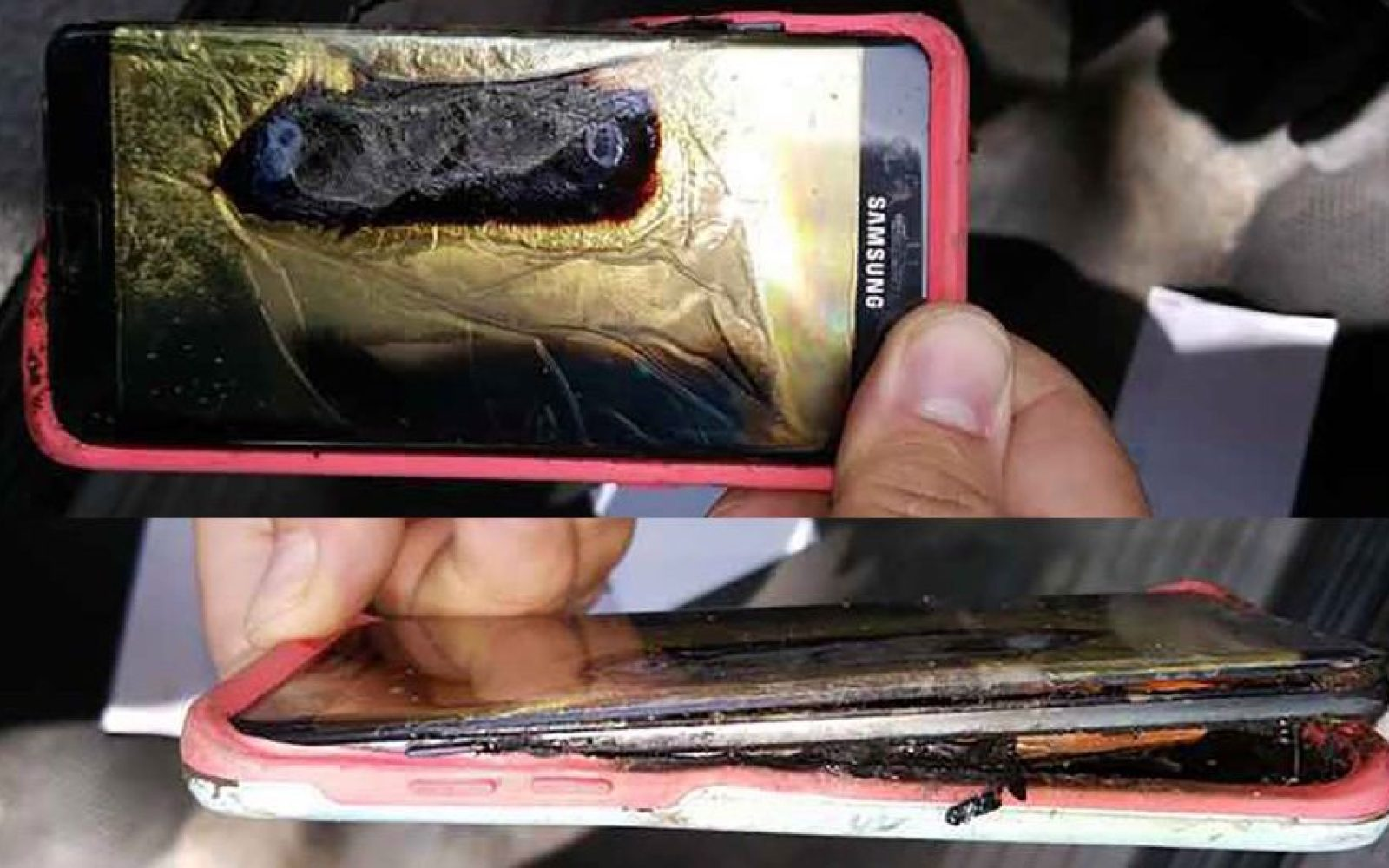 Another replacement Galaxy Note 7 apparently caught fire in Minnesota