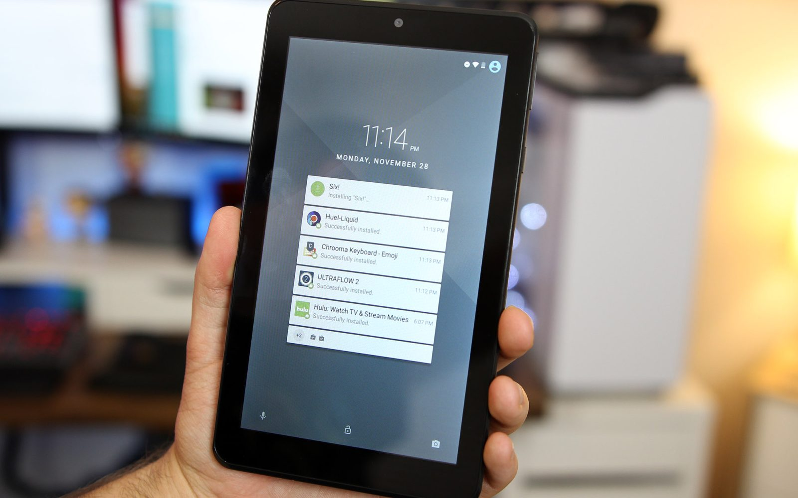 The $50 NOOK tablet features Android's adoptable storage