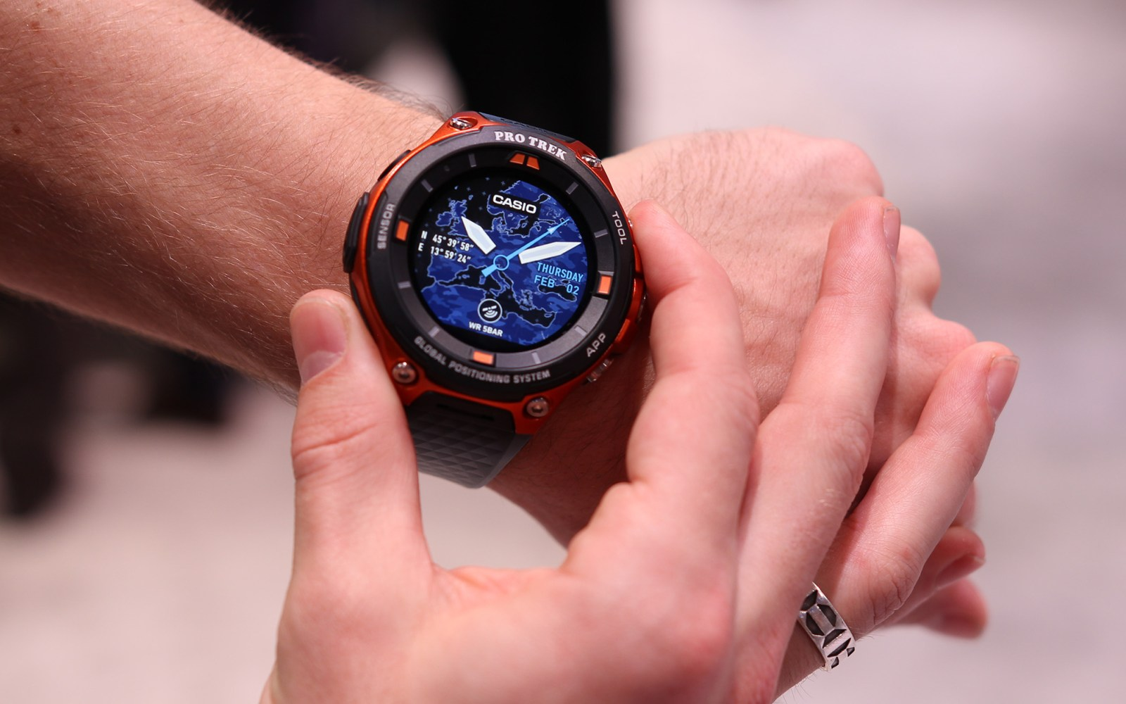 Hands on: Casio's latest rugged Android Wear smartwatch runs Android Wear 2.0, somehow got even bigger [Video]