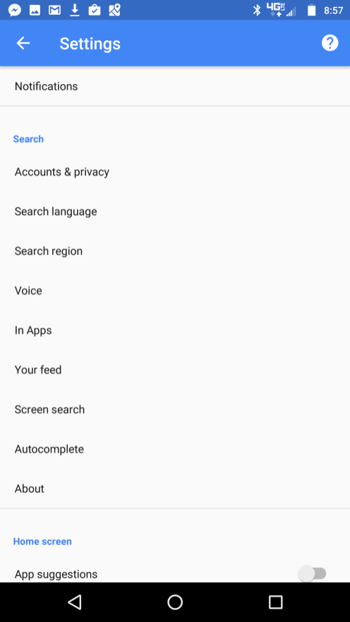 Latest Google app beta adds option to manually set country