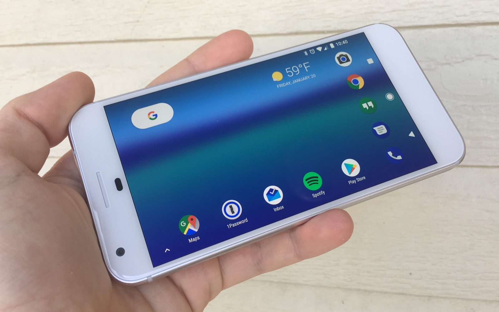 Android Basics: How to enable landscape home screen on