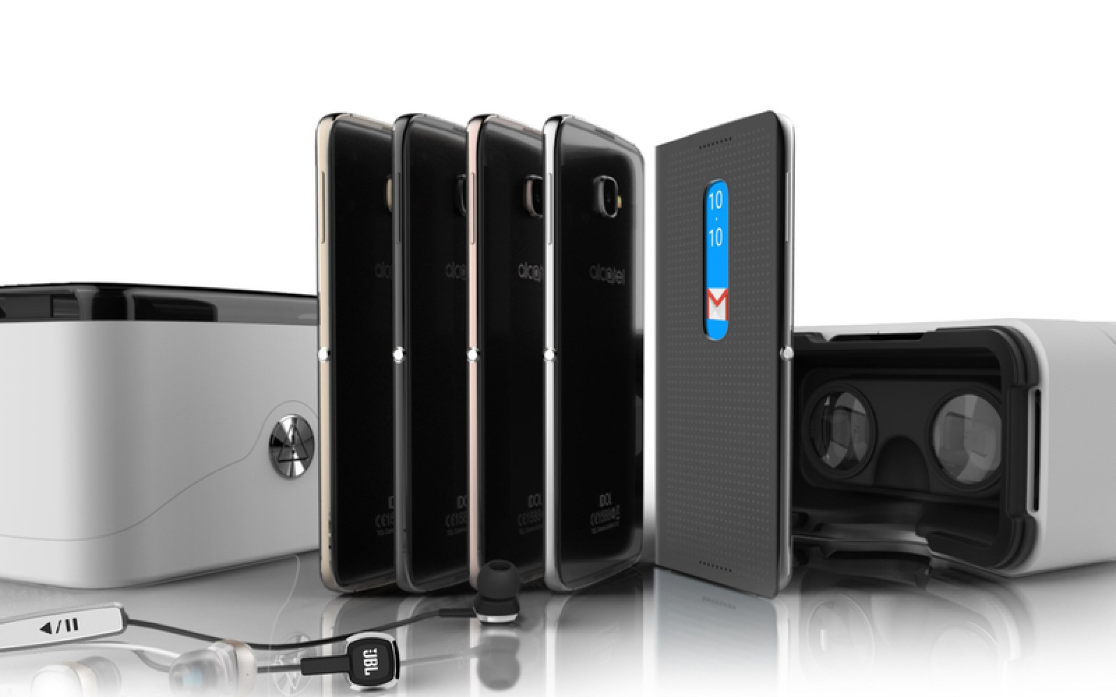 Alcatel officially outs the Idol 4 and Idol 4S, mid-rangers with high-end specs