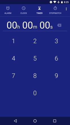 Google Clock app updated w/ easier navigation, bolder font, seconds