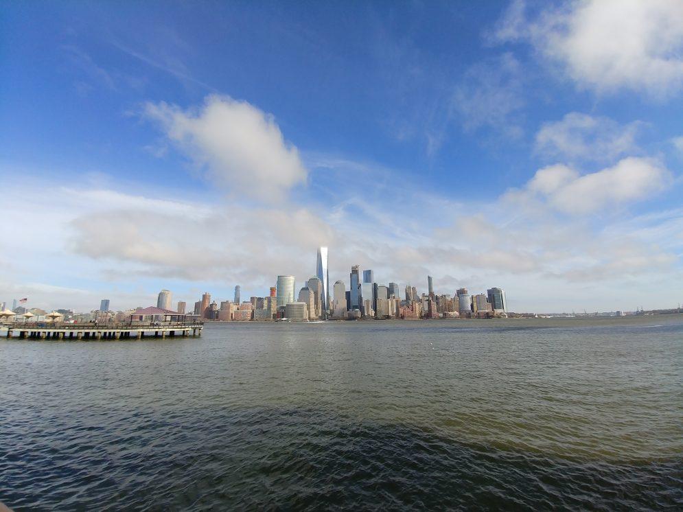 LG G6 Wide Lens New York City Skyline