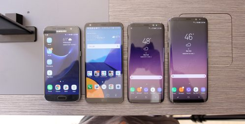 Samsung Galaxy S8 and S8+ vs LG G6 and Galaxy S7