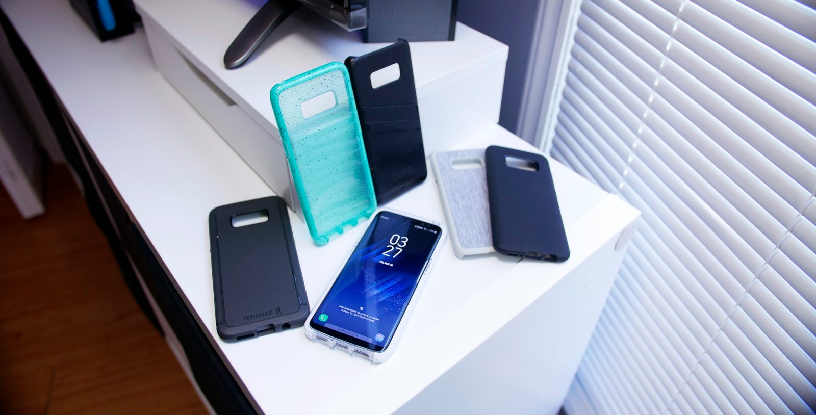brand new 8ffbb 0a180 Hands on with some of the best cases for the Samsung Galaxy S8 ...