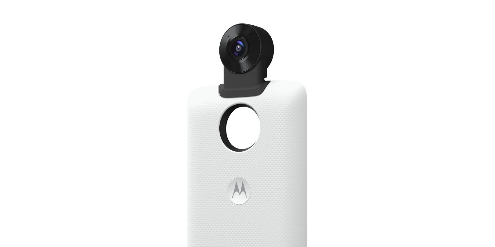 Motorola's next wave of Moto Mods includes 360-degree camera, DSLR mod, Marshall speaker and mic