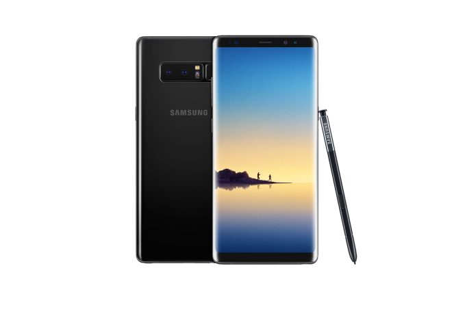 Galaxy Note8 Midnight Black Dual