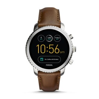 Q EXPLORIST BROWN LEATHER