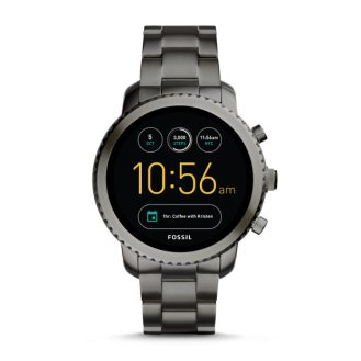 Q EXPLORIST SMOKE STAINLESS STEEL