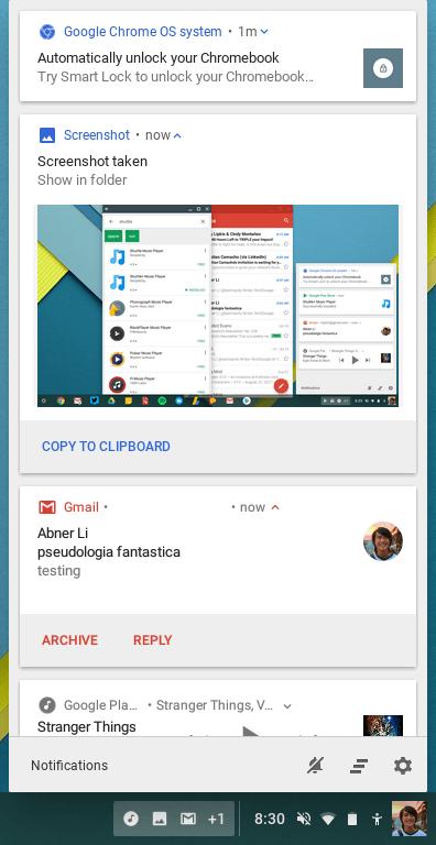 Chrome OS 62