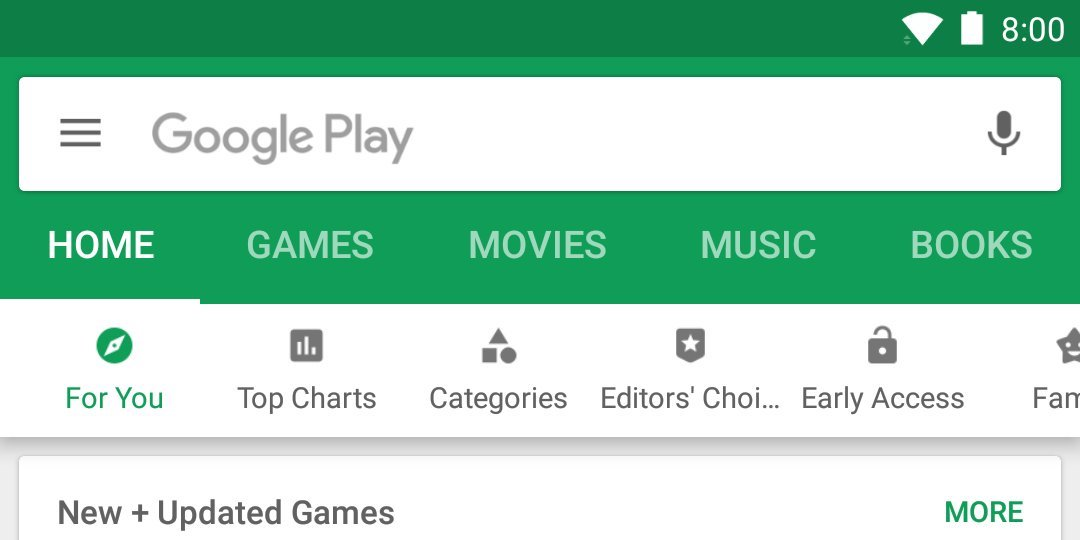 google play store rolling