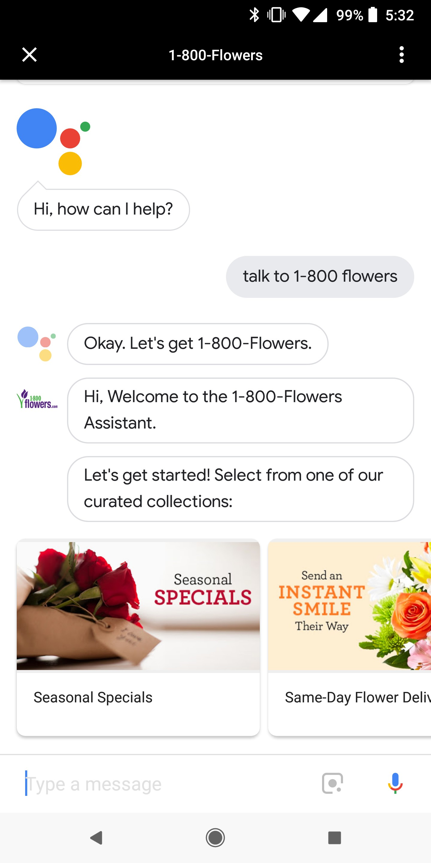 how to order valentine s day flowers from 1 800 flowers using google