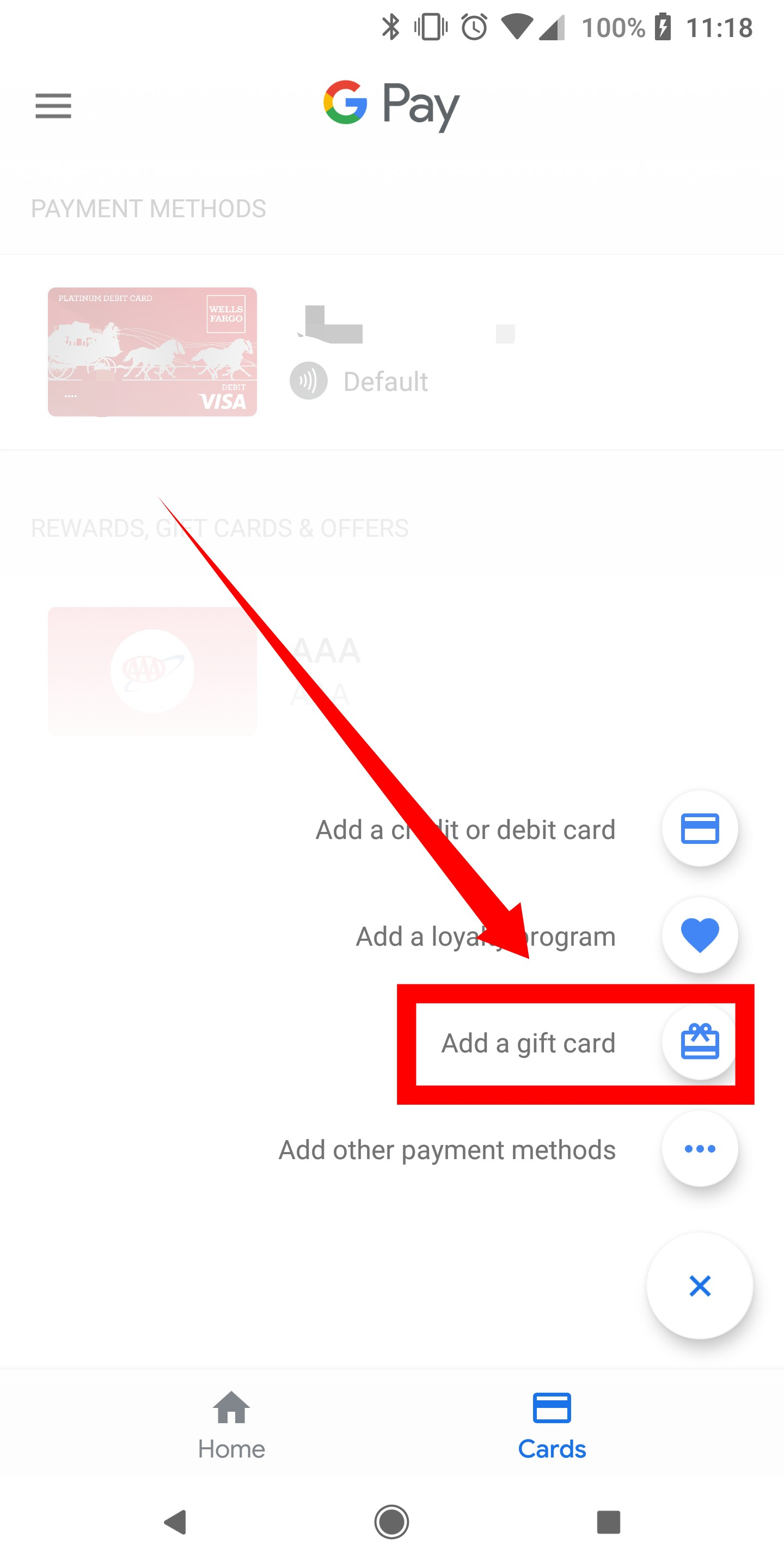 How to add credit/debit cards, gift/loyalty cards, and more