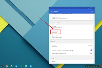 Chrome OS using Emoji 3