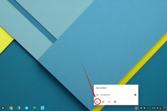 Chrome OS using Emoji 6