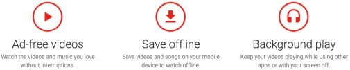 YouTube Red site December 2015
