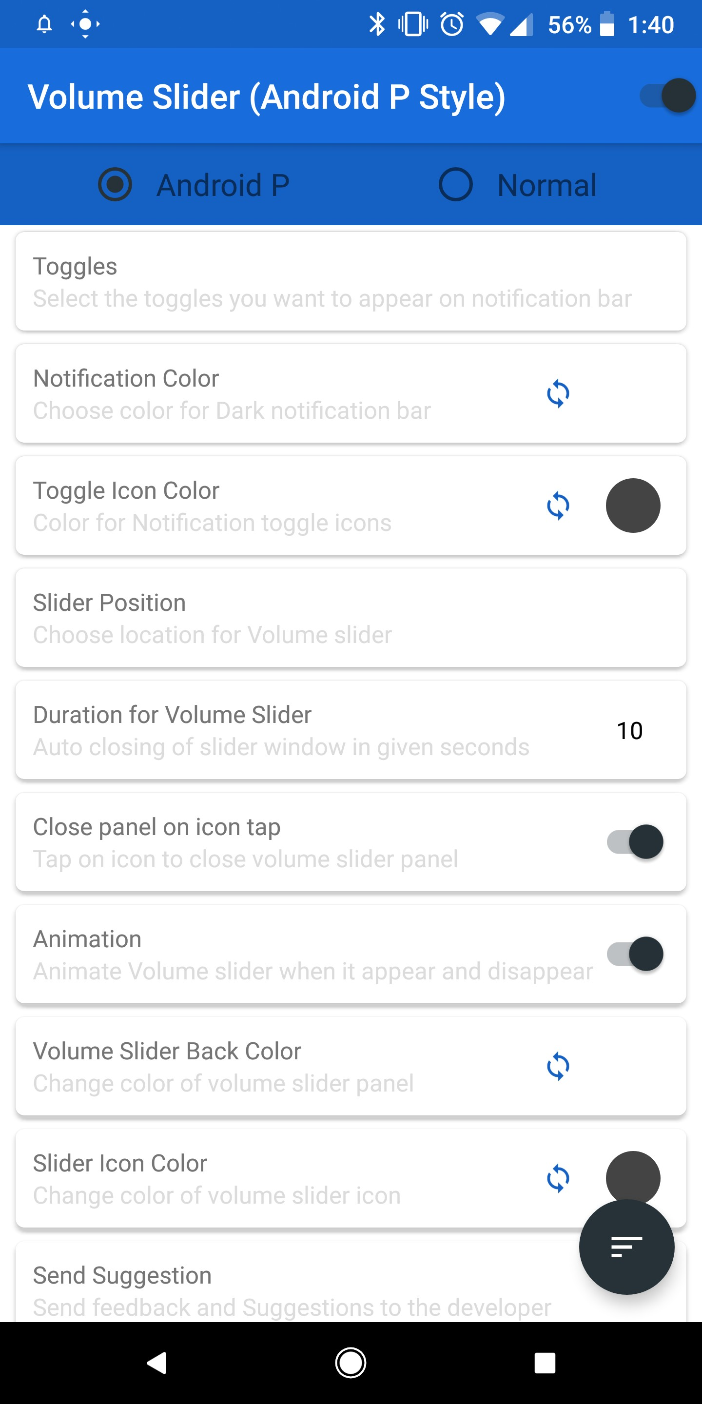 Here's how to bring Android P's volume slider and launcher