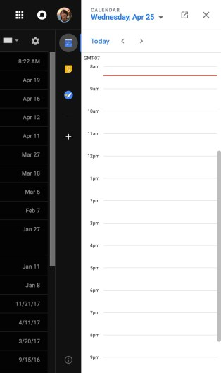 new-gmail-side-bar-calendar