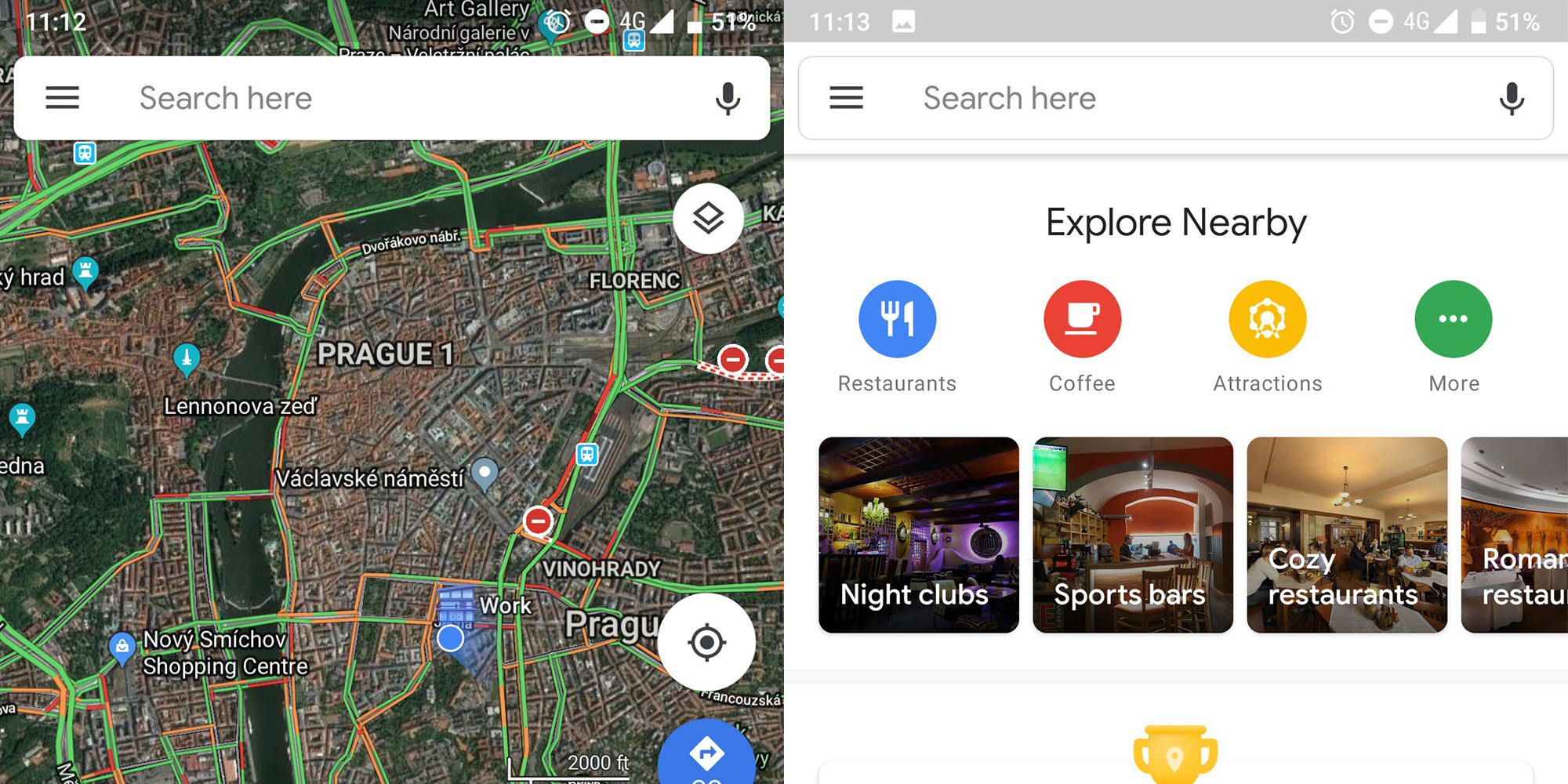 Google Maps Testing New Material Theme Design Rolling Out