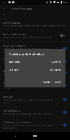 youtube-disable-sound-vibrations