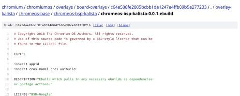 Chromebase Kalista