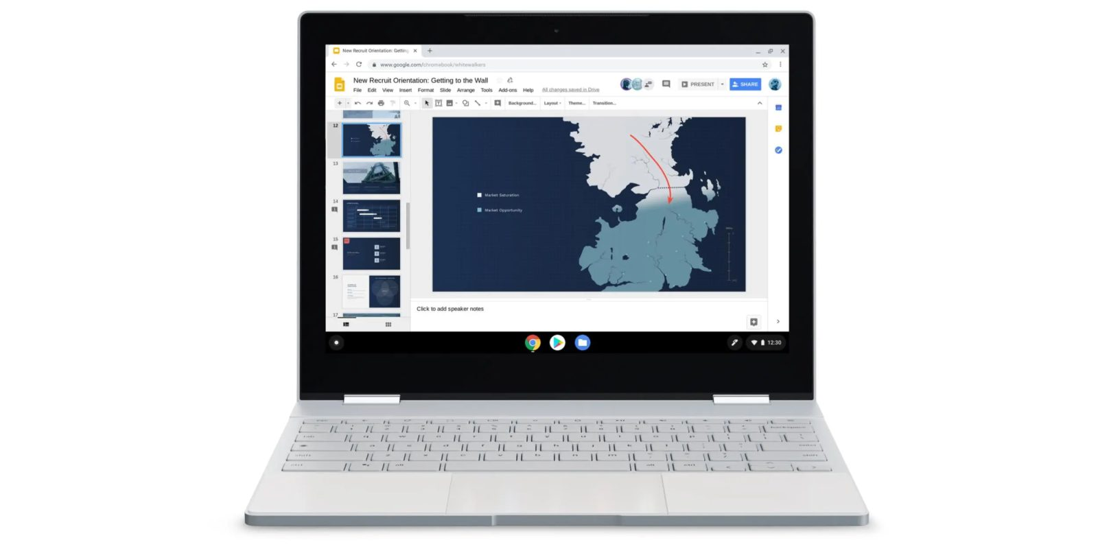 Google Promoting Chromebooks With Game Of Thrones