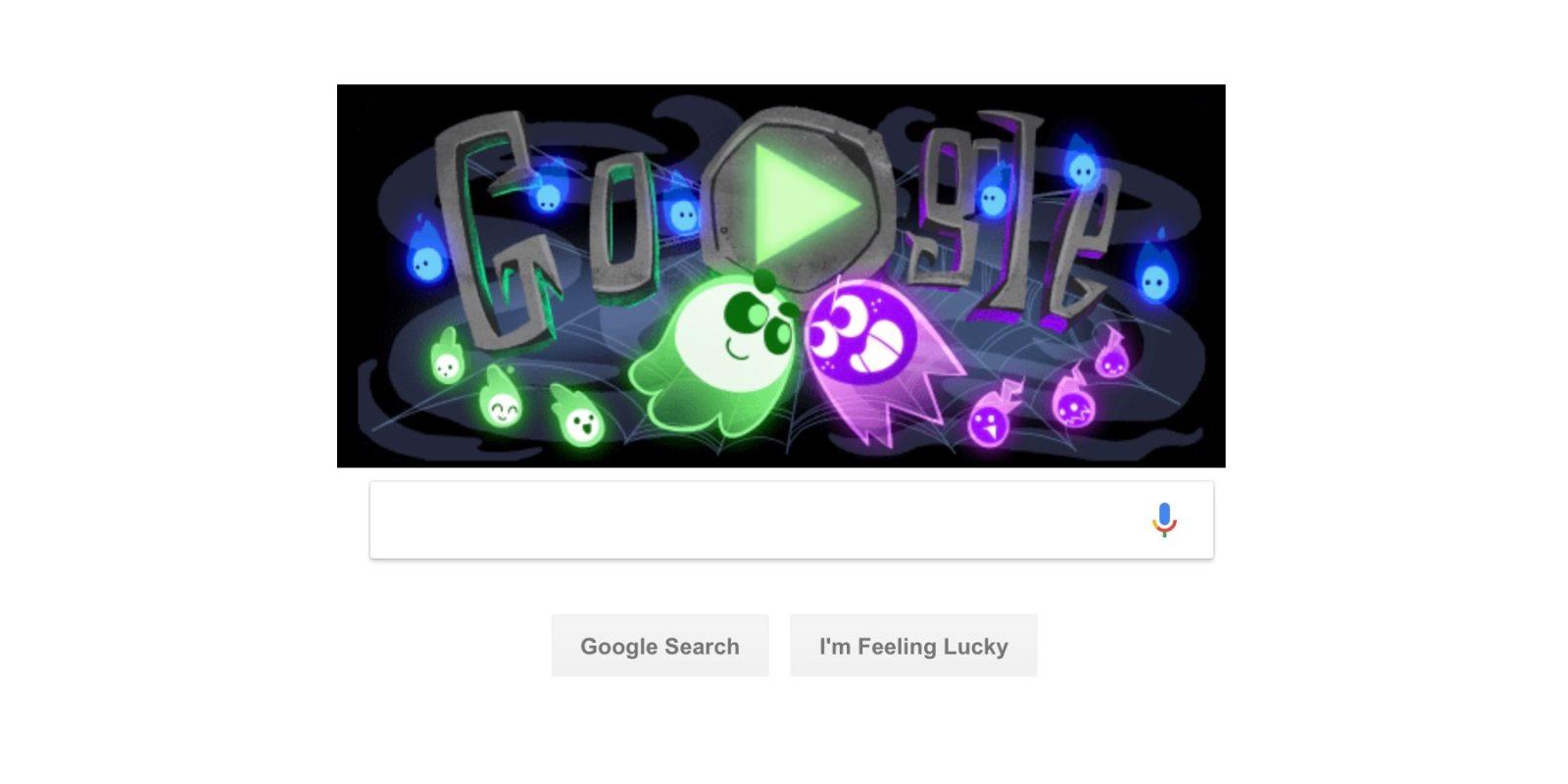 Google Celebrates Halloween W Multiplayer Doodle Game