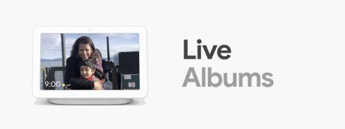 google-home-hub-live-albums