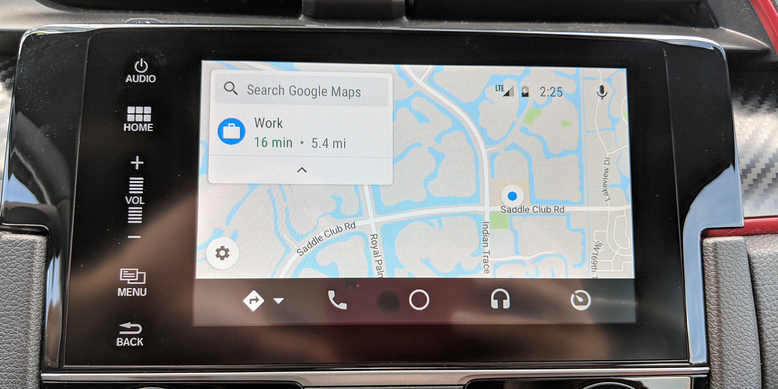 Google Maps On Android Auto Updated W Refresh Layout